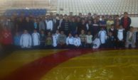 Dinar'da Güreş Seçmeleri Yapıldı