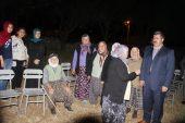 Köylü Vatandaşlardan  Özkaya'ya Destek