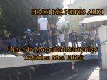 Dinar'da Motosiklet Sürücüleri Trafikten Men Edildi