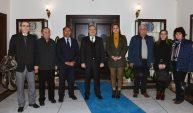 Milletvekilleri Burcu Köksal ve Özcan Purçu Vali Mustafa Tutulmaz'a Nezaket Ziyaretinde Bulundu.