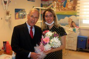 Başkan Acar'dan Tıp Bayramı Ziyaretleri
