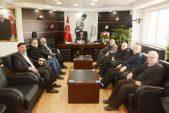 Basın Mensupları Başkan Sarı'yı Ziyaret Etti