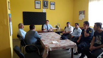 Dinar Kaymakamı Kapankaya Uluköy ilkokulunu ziyaret etti