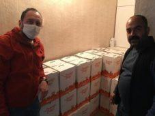 Dinar CHP'den 350 Aileye Erzak Desteği