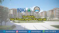 Son Dakika: Toki 63 konut projesi 78'e çıkarıldı