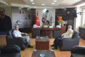 İlçe Nüfus Müdürü Yılmaz'dan Başkan Sarı'ya Ziyaret