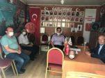 Dinar Kaymakamı Selami Kapankaya Türkiye Harp Malülü Gaziler Şehit Dul ve Yetimleri Derneği Afyonkarahisar Dinar Temsilciliğini Ziyaret Etti.