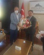 Dinar Ticaret ve Sanayi odası başkanı Başkanı Abdullah Bağırkan