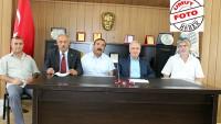 Darbe Teşebbüsüne Karşı Dinar'da Ortak Basın Açıklaması Yapıldı