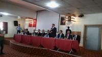 Bakan Eroğlu Dinar'da Bayramlaşma Merasimine Katıldı
