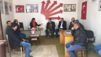 CHP Milletvekili Köksal Dinar'ı ve Bolvadin'i Ziyaret Etti