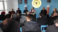 Ak Parti İlçe Başkanı Yüksel Muhtarlarla İstişare Etti