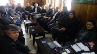 Dinar Müftüsü Yaşar'ı Merkez Mahalle Muhtarları Ziyaret Etti