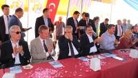 Dinar'da Birlik ve Beraberlik İçerisinde Bayramlaşma Gerçekleştirildi