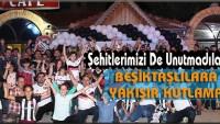 Beşiktaşlılara Yakışır Kutlama