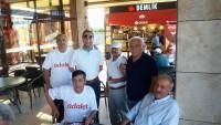 Adalet Yürüyüşüne Afyonkarahisar ve İlçeleri desteği
