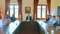 Vali Mustafa Tutulmaz Muhtarları Kabul Etti.