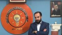 Ak Parti İlçe Başkanı Yüksel'den Yazılı Açıklama