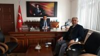 Ak Parti İlçe Başkanı Edoğdu Kaymakamı Ziyaret Etti