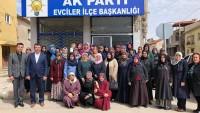 Milletvekili Özkal, Kızılören ve Evciler ilçe kadın kolları kongrelerine katıldı
