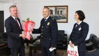Polis Haftası Nedeniyle Ziyaretler Başladı