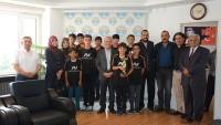 Uluslar Arası Spor Müsabakalarında Dinar Ş.P,U.ÇVŞ.Selçuk Gürdal Okulu Üçüncü Oldu
