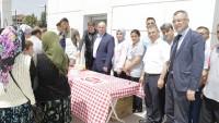 Kadroya Geçen İşçiler Lokma Tatlısı Döktürdü