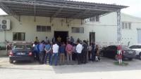 CHP Milletvekili Adayı Hakan Uyan İşçilerle Görüştü