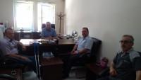 Dinar Şehit ve Gaziler Derneği'nden, SHM Müdürü Över'e Ziyaret