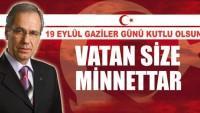 Başkan Saffet Acar'ın 19 Eylül Gaziler Günü Mesajı