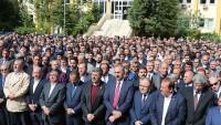 Milletvekili Ali Özkaya'nın Annesi Zeynep Özkaya Dualarla Defnedildi
