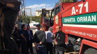 Yangından Mağdur Olanların İhtiyaçları Karşılandı