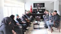 Türkiye Harp Malulü Gaziler Şehit Dul ve Yetimleri Derneği Afyonkarahisar Şube Başkanlığından Ziyaret