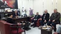Mal Müdürlüğünden DİTSO'ya Ziyaret
