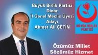 Ahmet Ali Çetin BBP İl Genel Meclis Adayı Oldu
