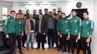 Dinar Belediye Spor Başkan Acar'ı Ziyaret Etti