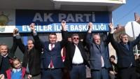 Milletvekili Özkaya Evciler'i Ziyaret Etti