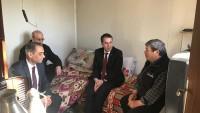 Kaymakam Kapankaya Kıbrıs Gazisini Ziyaret Etti