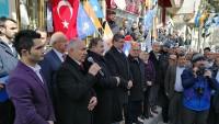 AK Parti Dazkırı Seçim Bürosu Açıldı