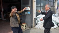 Dinar Sanayi Sitesi Esnaflarından Başkan Acar'a Tam Destek