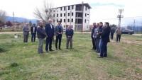 Başmakçı'ya Yapılacak Olan spor Salonunun Yer Teslimi Yapıldı