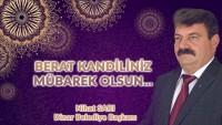 Belediye Başkanı Nihat Sarı'dan Berat Kandili Mesajı