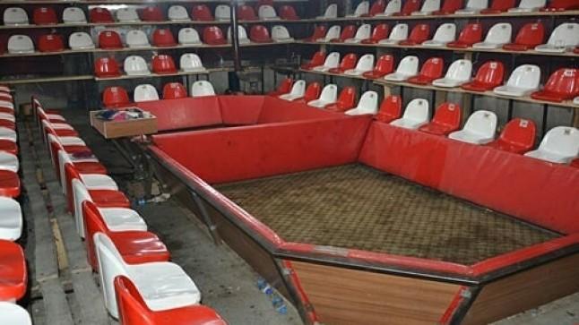 Dazkırı'da Horoz dövüşü için özel salon yapmışlar!