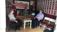 Dinar Kaymakamı Selami Kapankaya Türkiye Muharip Gaziler Derneği Afyonkarahisar Dinar Temsilciliğini Ziyaret Etti.