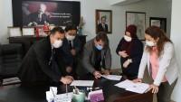 Dinar OSB de genişleme çalışmalarında ilk imzalar atıldı.