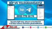 Dinar Belediyesi BİP ve TELEGRAM'da