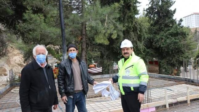 Suçıkan Mescidimizin inşaatı son hız devam ediyor