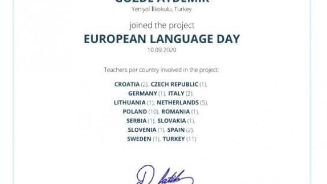 Dinar Yeniyol İlkokulu İngilizce eTwinning Projeleri İle Fark Yaratıyor
