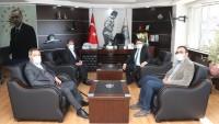 Vali Yardımcısı Kaya'dan Başkan Sarı'ya ziyaret