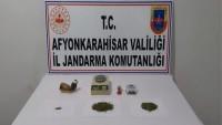 Dazkırı Jandarmadan uyuşturucu operasyonu